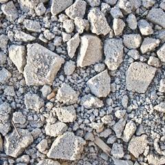 Pieces of broken ground  Textured background