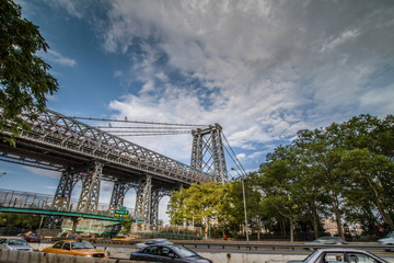 Williamsburg Bridge in NYC