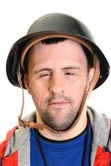 trisomique homme soldat