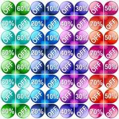 Vector Background. Vector  labels
