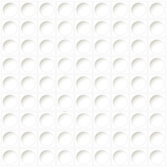 white background - prepunched paper