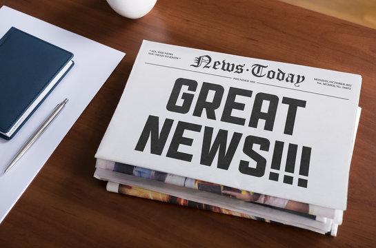 Great news