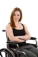 Confident Woman Wheelchair