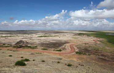 Amboseli NP road - Kenya