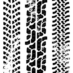 Off-road tyres traces