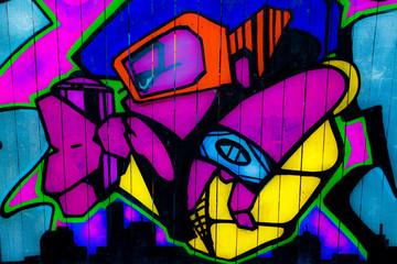 Wall art in Nottingham