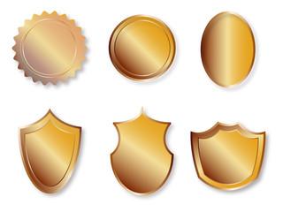 ikony złote