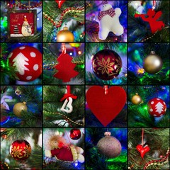 Collage - Christmas Tree