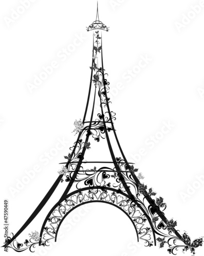 Eiffel tower paris france stock image and royalty free vector eiffel tower paris france thecheapjerseys Gallery