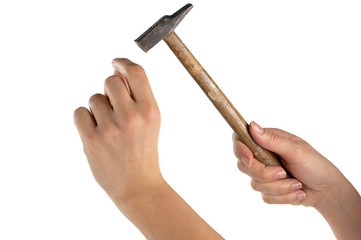 Mani con martello