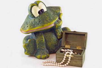 Богатая лягушка