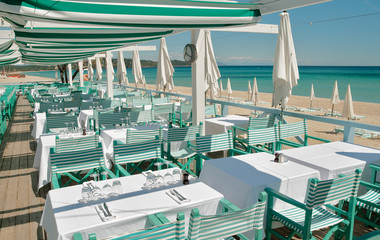 Beach Restaurant in the South of France 1