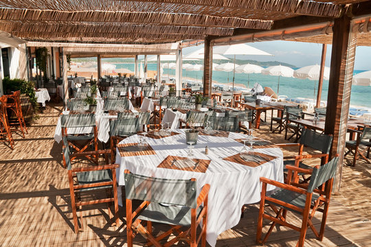 Beach Restaurant in the South of France 2