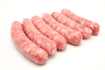 sausages isolated