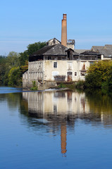 Old tannery along the Vienne River in Limousin