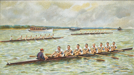 canoing race