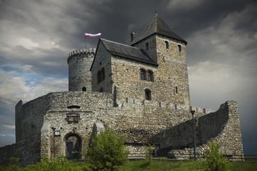 Castle in Bedzin, Poland