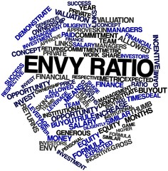 Word cloud for Envy ratio