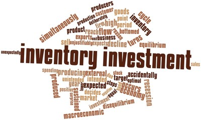 Word cloud for Inventory investment
