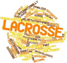 Word cloud for Lacrosse
