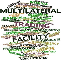 Word cloud for Multilateral trading facility