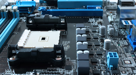 motherboard with cpu slot