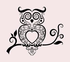 Owl ornament decoration