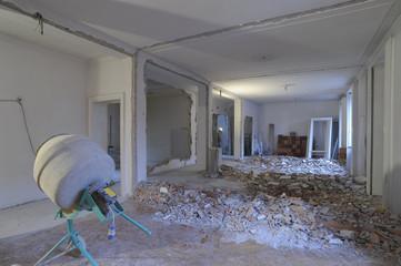 appartamento in ristrutturazione