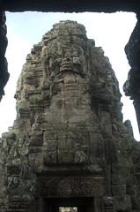Camboya. Caras del templo de Bayón. Angkor.