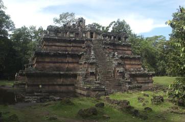 Templos de Angkor. Angkor Thom. Phimeanakas. Camboya