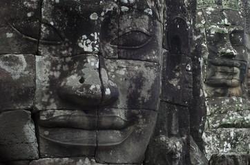 Templo de Bayón. Angkor. Camboya