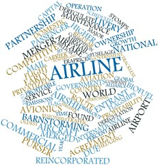 Word cloud for Airline