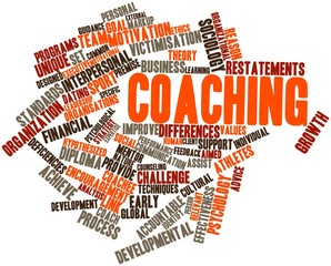 Word cloud for Coaching