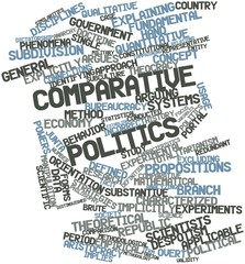 Word cloud for Comparative politics