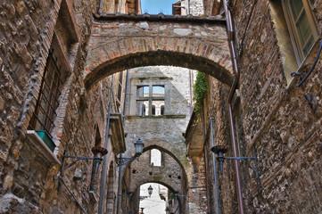Alleyway. Narni. Umbria. Italy.