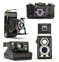4 vintage camera