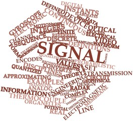 Word cloud for Signal