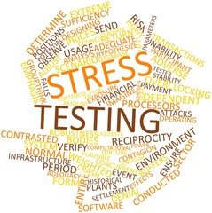 Word cloud for Stress testing
