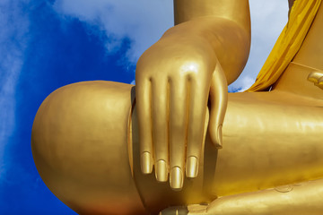 buddha and blue sky blue sky