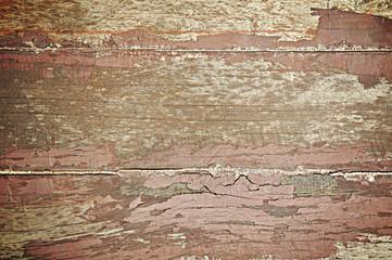 Fototapete - Old wood texture background - lomo