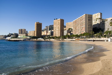 Monte Carlo beaches