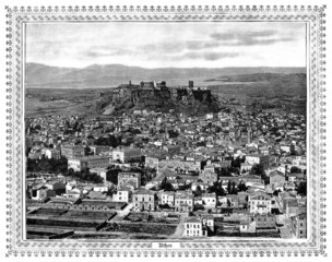 View : Athens - middle 19th century