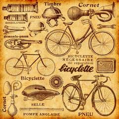 Wall Mural - Réparation de vélo