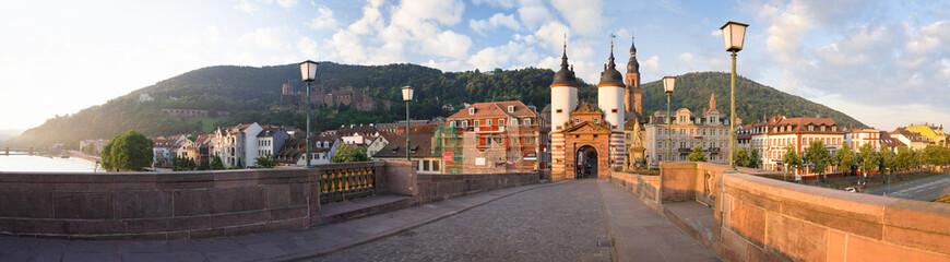 Fotomurales - Alte Brücke in Heidelberg
