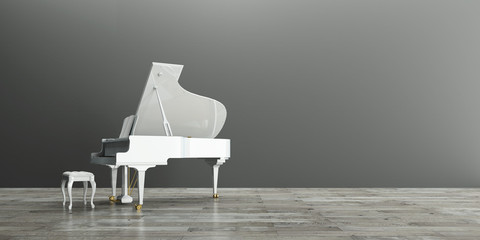Flügel, Piano, Innenraum, Musik