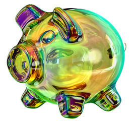 money box - piggy bank