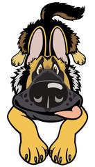 cartoon doggy