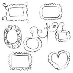 Frames doodles