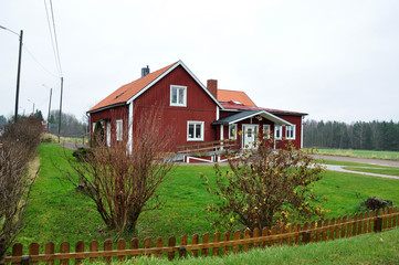 traditional building in Sweden