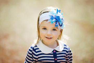 little beautiful girl portrait